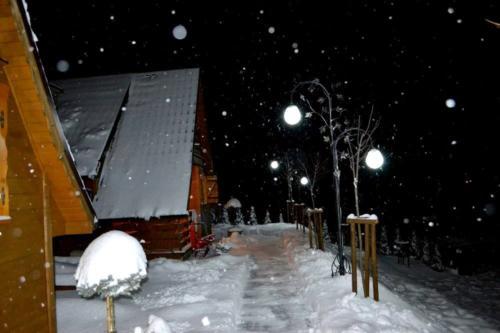 Jaworina - zima